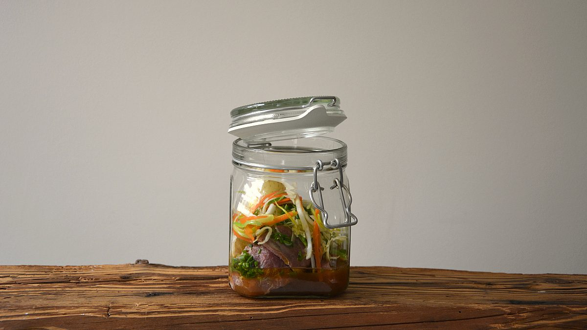 Schweinebackerl mit Wurzelgemüse Lungauer Erdäpfel 16